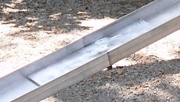 aluminum folding ramps middle hinge