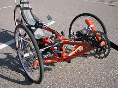 david bruce front wheel drive trike 4