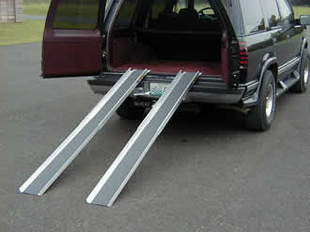 telescoping aluminum ramps