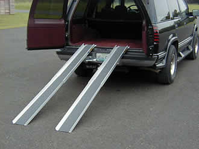 telescoping aluminum ramps