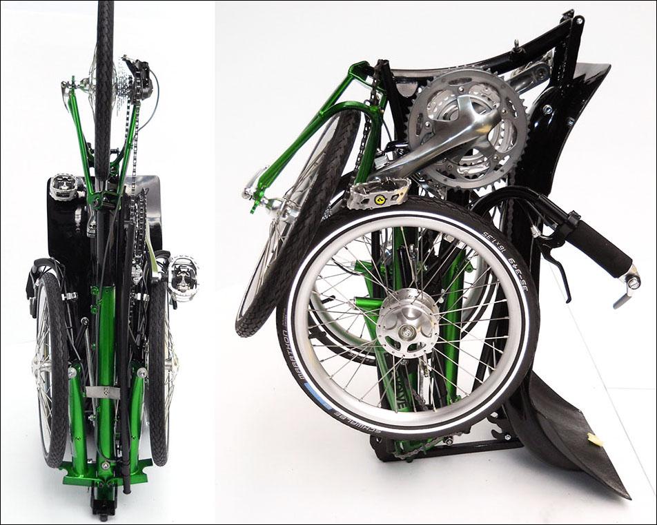 Folding Recumbent Trikes Tadpole Rider