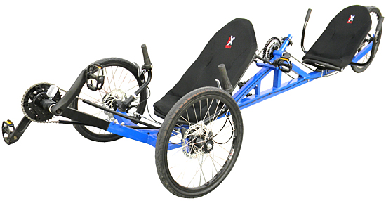 Tandem trikes for adults