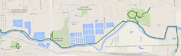 Maumee Pathway map