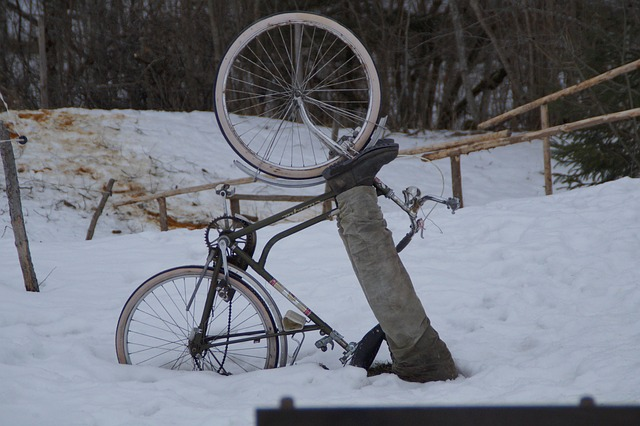 riding in snow 2