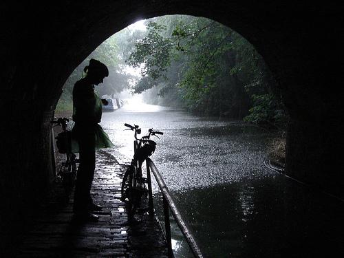 shelter from rain