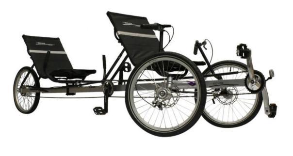 TerraTrike Rover tandem trike