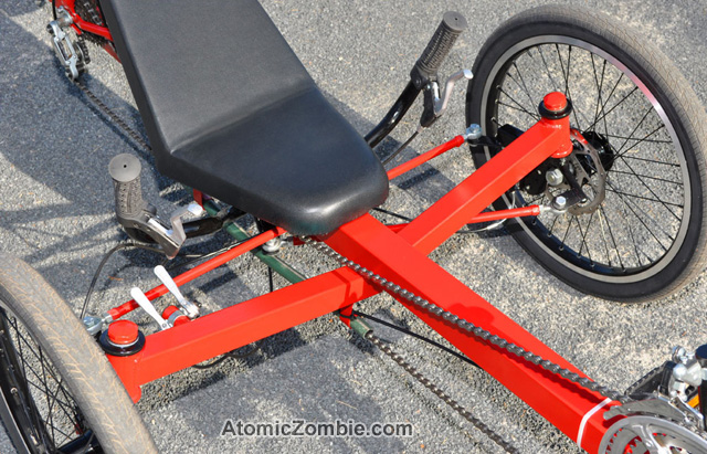 how to build a trike out of a bike