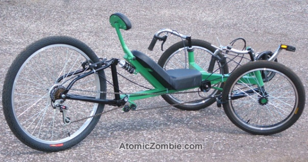 AZ StreetFox Suspension Tadpole Trike