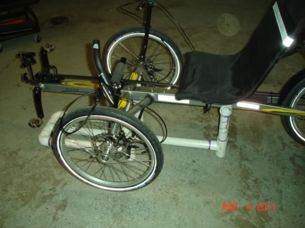 low trike work stand