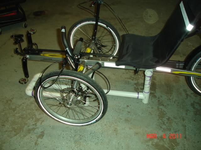low trike work stand