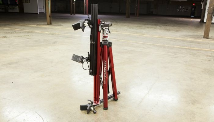 SportCrafters trike work stand folded up
