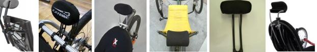 neckrests for various trikes