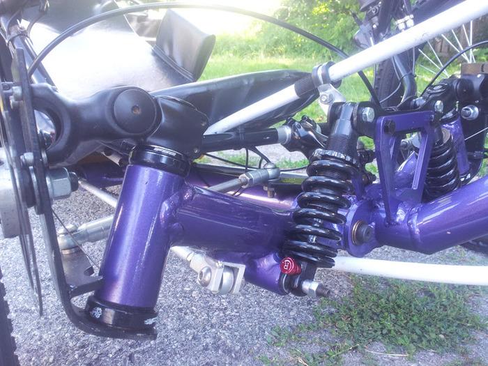 Arctrike front suspension 2