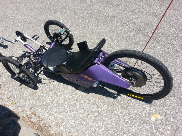 Arctrike left side