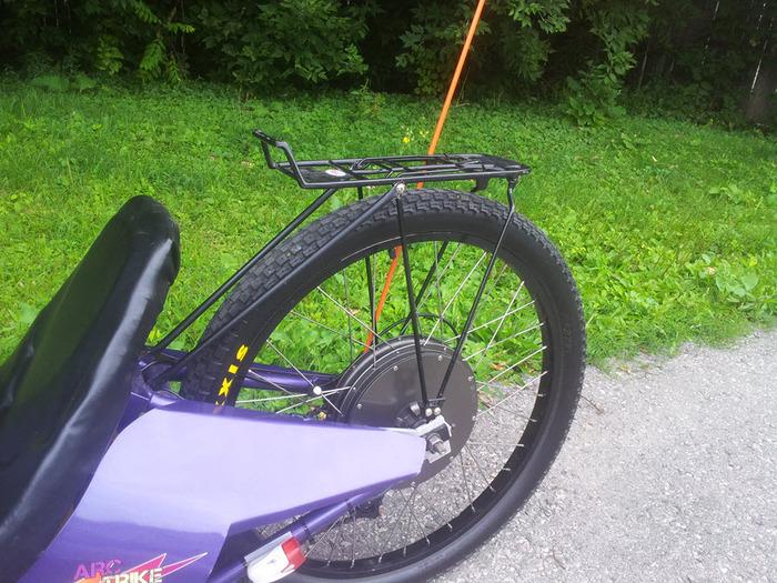 Arctrike rear rack