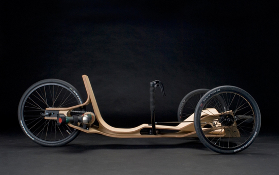 electric screwdriver powered recumbent trike 2