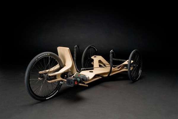 electric screwdriver powered recumbent trike 4