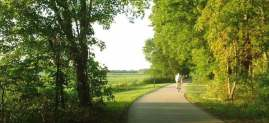 Fort Wayne Trail summertime