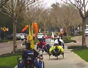 tadpole trikes riding together