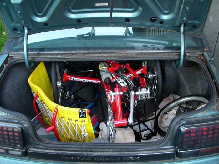 greenspeed in trunk
