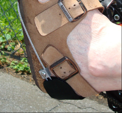 Heel Slings With Heel Pads