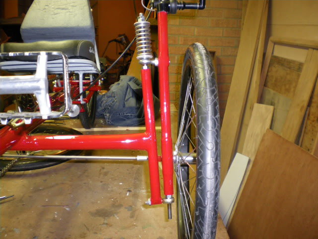 homemade front suspension