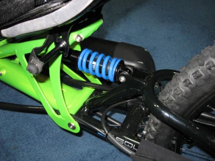 HP Velotecknik Scorpion fs Enduro rear suspension
