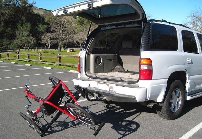 tip down trike carrier