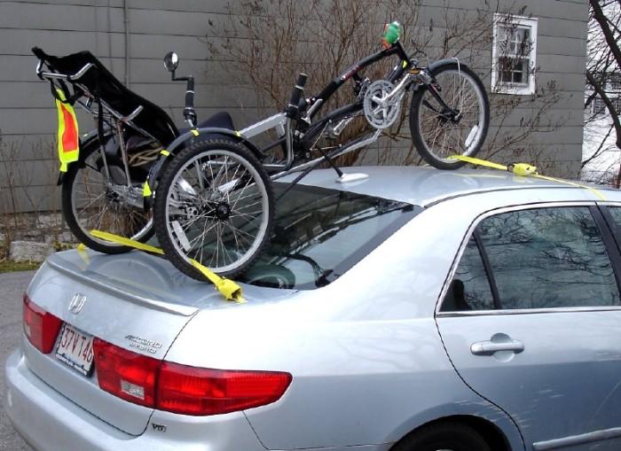 trike transport roof & trunk lid