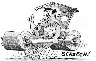 Fred Flinstone brakes