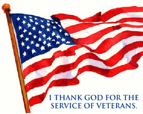 thank God for service of veterans