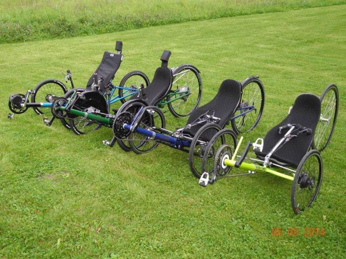 4 trike models
