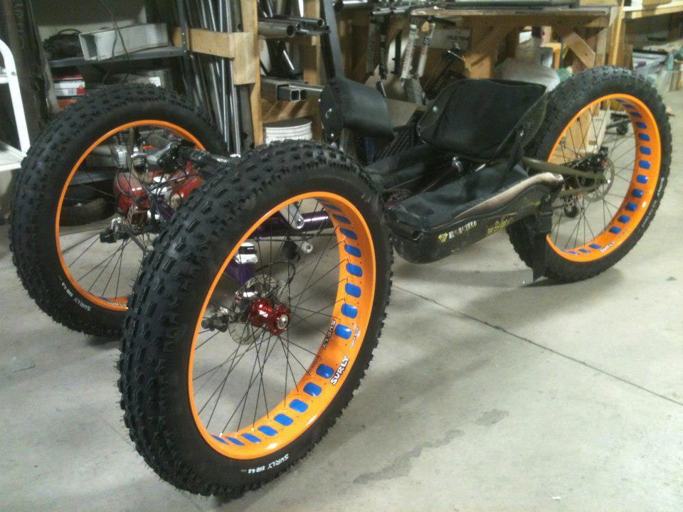 Tadpole Trike Tires Tadpole Rider