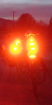 taillights on bike 2