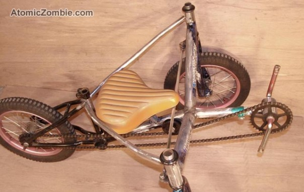 AZ homemade tadpole trike for kids 12