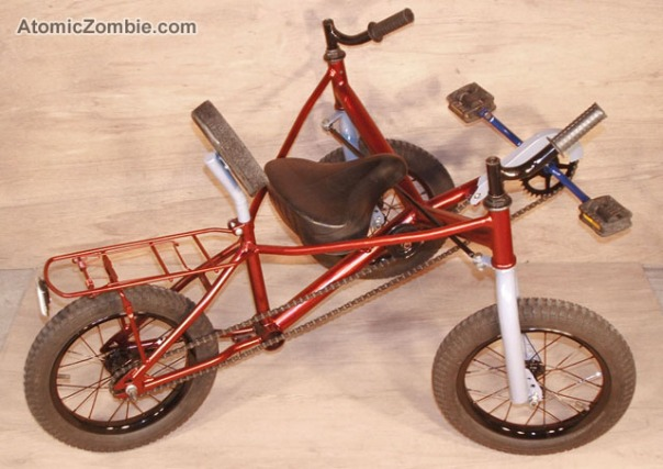 AZ homemade tadpole trike for kids 15