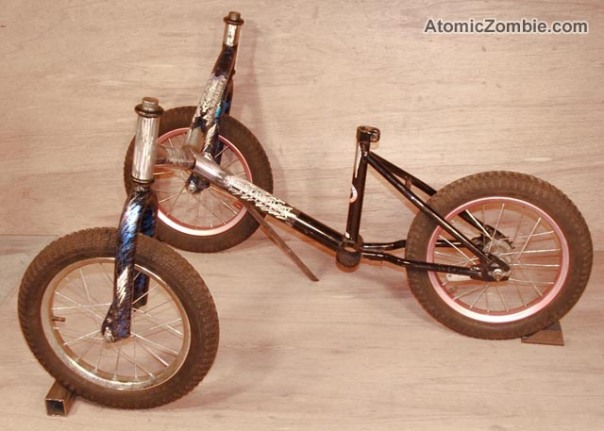 AZ homemade tadpole trike for kids 5