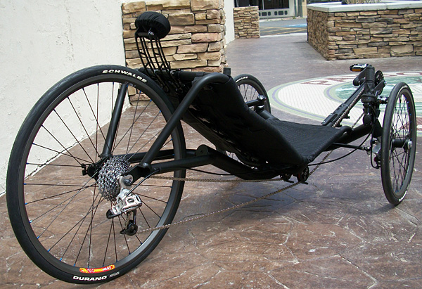Fat Tires On Recumbent Trikes Tadpole Rider