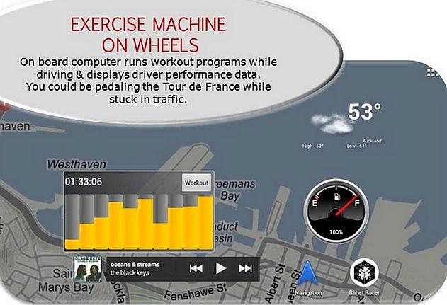 Raht Racer exercise workout