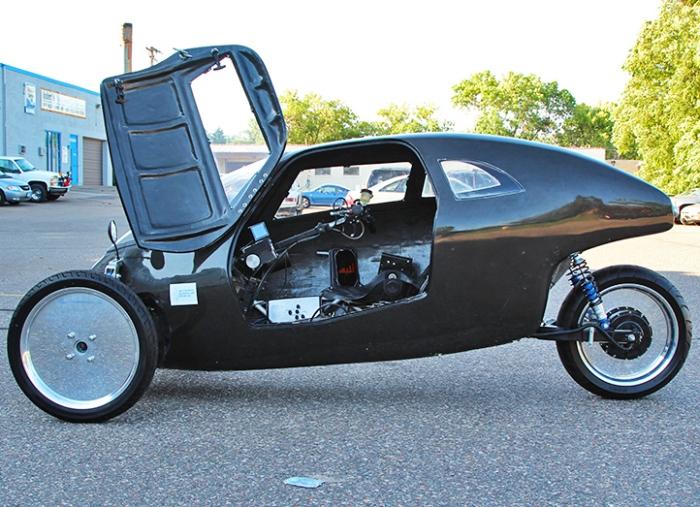 Raht racer hybrid bike car left side