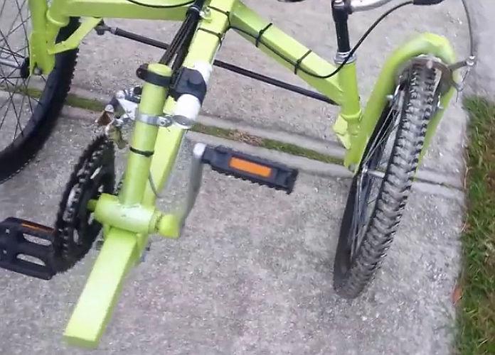 Homemade Tadpole Trikes Tadpole Rider