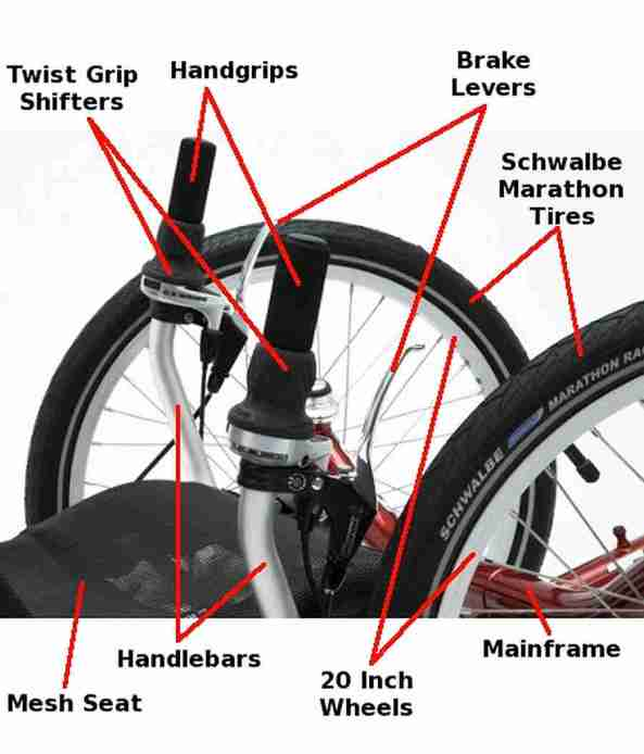 anatomy ICE trike 3