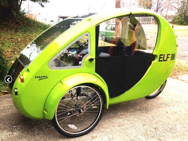 ELF e-trike doors