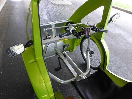 ELF e-trike interior