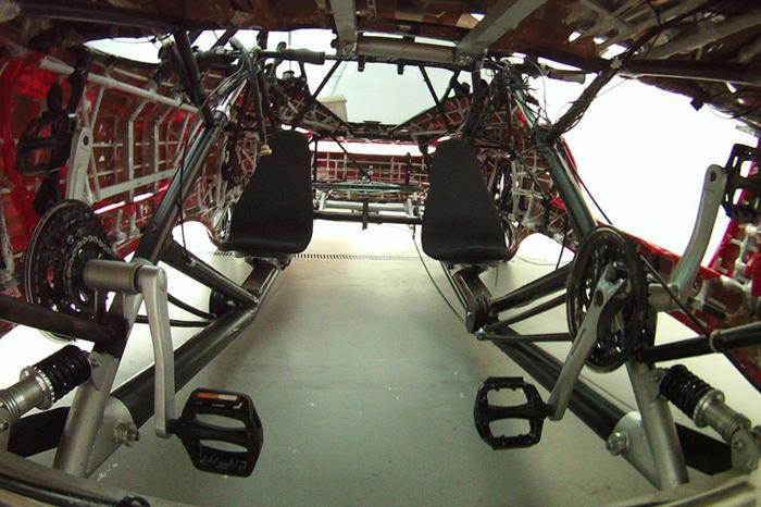 Fahrradi Farfalla FFX front interior