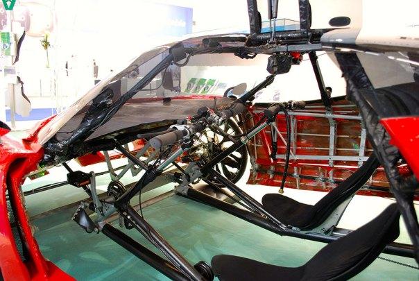 Fahrradi Farfalla FFX interior
