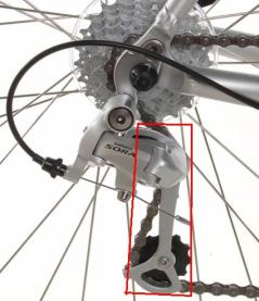 rear derailleur 6 o'clock position 2