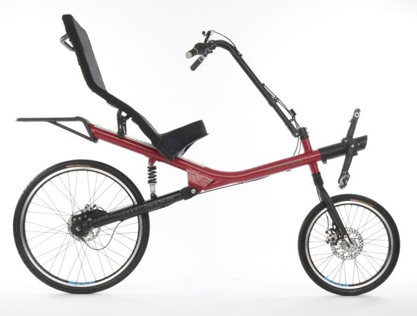 shaft drive recumbent Mirage Nomad
