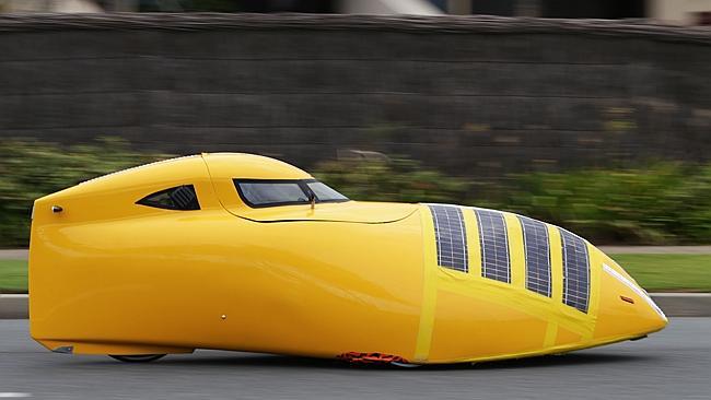velomobile - sleek fast looking 2