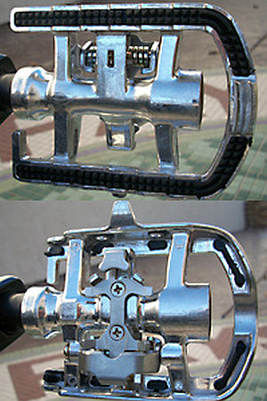 Catrike stock pedals